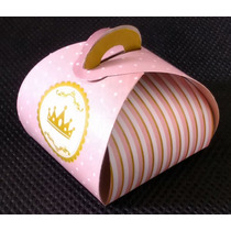 Caixa Trufa Coroa Rosa (10 Unidades)