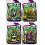 Tartarugas Ninja Raphael Michangelo Leonardo Donatello + 2