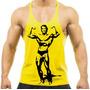 Regata Super Cavada Musculação Arnold Camisetas Academia