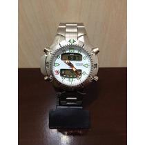 Relógio Aqualand Citizen Fundo Branco Aço