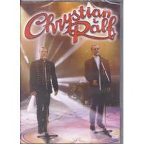 Chrystian E Ralf - Acústico (dvd Original E Lacrado)