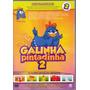 Dvd Galinha Pintadinha - 15 Clipes Vol. 2 - Novo***