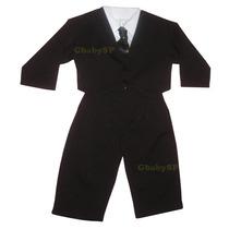 Terno Masculino Conjunto Social Infantil Criança Bebê