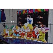Kit Displays Branca De Neve E Os 7 Anões. Imperdível!!!