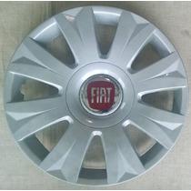 Calota Jogo 4pçs Punto Idea Doblo Strada Aro15 Fiat P458j