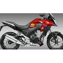 Kit Adesivo Moto Honda Cb 500f 500x 300r Personalizado