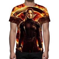 Camisa, Camiseta Jogos Vorazes Mod 2- A Esperança - Parte 01