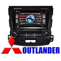 Central Multimidia H Buster Tela 7,8pol Mitsubishi Outlander