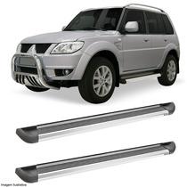 Estribo Plataforma Alumínio Para Mitsubishi Pajero Tr4
