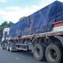 Lona Ripstop Azul 7x5 Encerado Algodão Caminhão Toco Normal