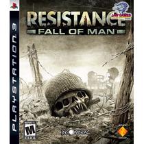 Jogo Ps3 - Resistance Fall Of Man - Usado
