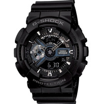 Relógio Casio G-shock Ga-110 1b Wr200 H.mundial 5 Alarmes Pp
