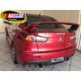 Ponteira Mitsubishi Lancer Evolution Em Aço Inox 304 Sport