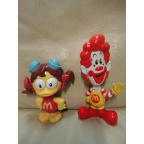 Brinquedos Lote Turma Do Ronald Birdie Ronald Mc Donald