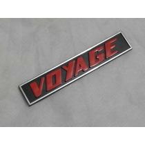 Vw Voyage S Ls 81 A 82 Raro Emblema Do Painel Novo Original