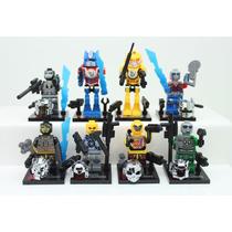 Lego Kit 8 Bonecos Transformers, Optimus Prime,...