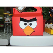 Caixa Lembrancinha Personalizada Aniversário Angry Birds