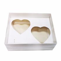 50 Caixas P/ 2 Corações De Colher 200g Cada - Dia Das Mães