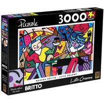 Quebra-cabeça Grow 3000 Peças Romero Britto Latin Grammy
