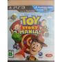 Toy Story Mania Ps3 Mídia Física Lacrado Novo Fácil Platinar