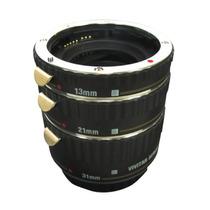 Três Tubos Extensão Câmera Dslr Canon Vivitar Viv-extc