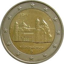 Alemanha - 2 Euros 2014 (baixa Saxônia)