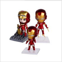 Kit 3 Bonecos Homem De Ferro 3 Iron Man Vingadores Mark