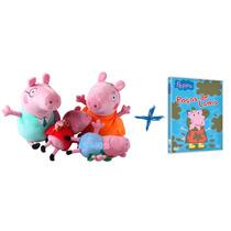 Família Peppa Pig + Dvd Original Pronta Entrega Pepa George