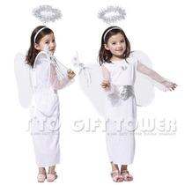 Fantasia Infantil Anjo Meninas