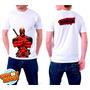 Camiseta Branca Deadpool Quadrinhos Hq Engraçada 354