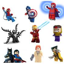 5 Minifigures A Escolher Lego Compatível Super Heroes Bkbfg5