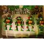 Conjunto 04 Bonecos Tartarugas Ninjas