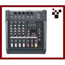 Mesa De Som Amplificada Mx50usb Soundpro. All Connet-sc.