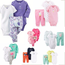 Carters Conjunto De 3 Pecas New Collection Menina De Rn A 24