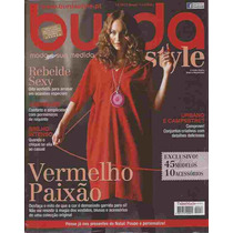 Burda Style 11/2011 Importada De Portugal Com Moldes