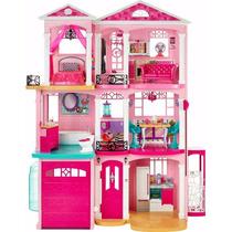 Barbie Casa Dos Sonhos - Mattel Cjr47 - Mansão Com Som E Luz