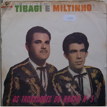 Lp Tibagi E Miltinho(os Trovadores Do Brasil N.5) Chantecler