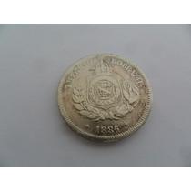 Brasil Moeda 50 Réis Ano 1886 Império Do Brasil Coleção