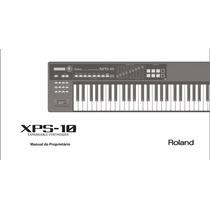 Manual Em Português Do Teclado Roland Xps-10