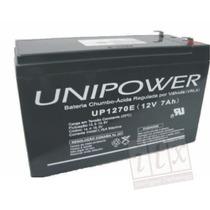 Kit C/ 10pcs - Bateria 12v 7a Unipower Up1270e Para No-break