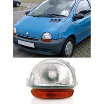 Farol Renault Twingo 94 95 96 97 98pisca Ambar Novo Esquerdo