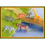 Lote 5 Animais Escala 1:75 Ou 1:76 P/ Maquete Arquitetura