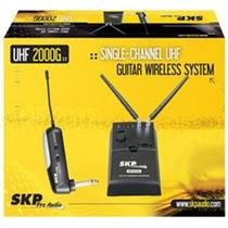 Transmissor Sem Fio Para Guitarra Skp Uhf2000g - Ac0547