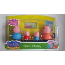 Miniaturas Da Família Da Porquinha Peppa