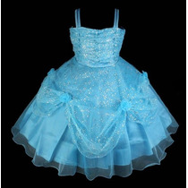 Vestido De Festa Infantil (florista, Aniversário,daminha)