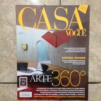 Revista Casa Vogue 361 9.2015 Arte 360º Especial Tecidos