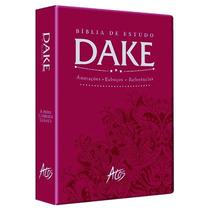 Bíblia De Estudo Dake Rc Com Dicionário Expandido 2015