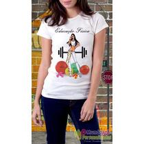 Camisetas Personalizadas Profissões Educação Física
