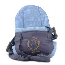 Canguru Cadeirinha Bebê Lipi Baby Bag Azul Menino Até 15kg