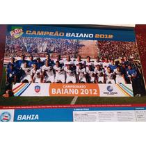 Pôster Placar Bahia - Campeão Baiano 2012
